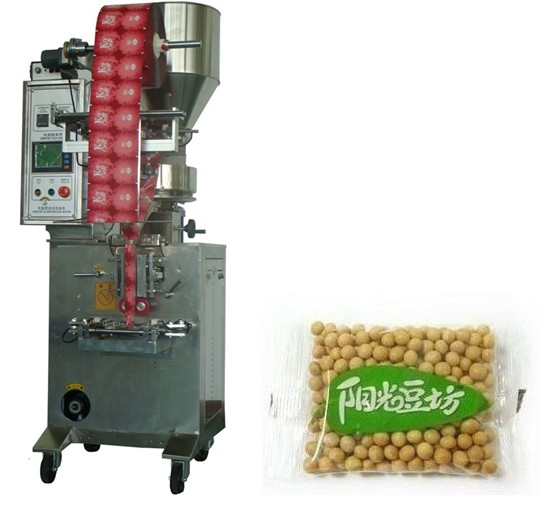 granule packing machine,grains packaging machinery,beans packing machine, salt packing machine,nuts packing machine