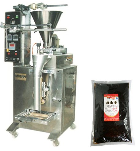 ketchup packing machine, paste packaging machine,chilli sauce packing machinery,jam packing machines